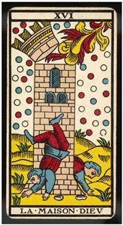 タロット「塔」