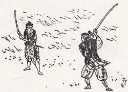 吉川英治『宮本武蔵』挿絵小次郎a
