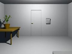 シンプルな部屋からの脱出