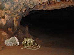 洞窟 脱出