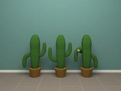 脱出ゲーム Cactus Cube