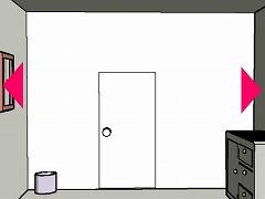 変な絵のある部屋から脱出するゲーム