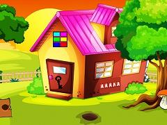 Tiled Roof House Treasure Escape
