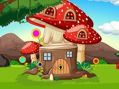 Red Mushroom House Escape