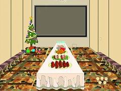 クリスマスパーティー招待状