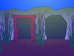 湖底の鉱山