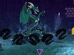 Deadly Dragon Cave Escape