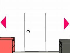 赤白黒の部屋から脱出するゲーム