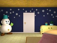 雪だるまの部屋