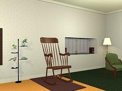 room17 揺り椅子のある部屋