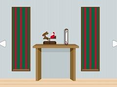 ガリレオ温度計のある部屋