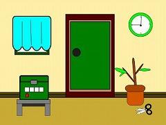 超簡単なシンプルな部屋からの脱出