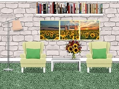 Sunflowers Room