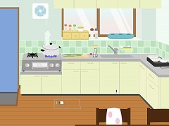 ぼくんちの台所、夏。