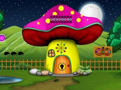 Fairy Mushroom House Escape