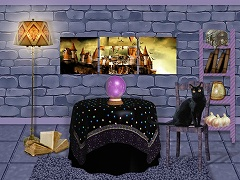 Purple Witch Room