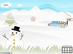コビトボクジョウ in winter