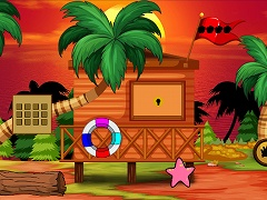 Beach Hut Man Escape