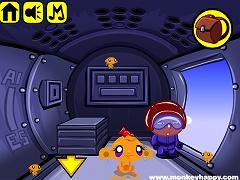 Monkey Happy Stage 367 - Skydive Theme