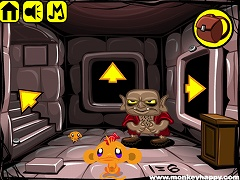 Monkey Happy Stage 287 - Dungeon Escape