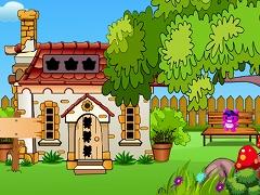Girl Escape From Villa House