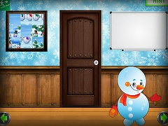 Amgel Snowman Room Escape