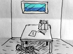 断崖の奇妙な灯台(手描き脱出ゲーム)