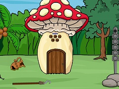 Mushroom Forest House Escape