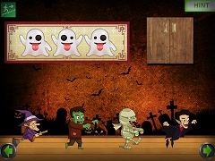 Amgel Halloween Room Escape 11