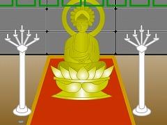 山頂の祠堂