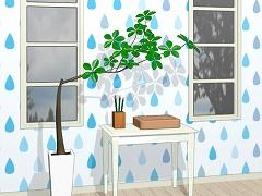 脱出ゲーム 雨の日の部屋にて