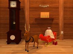 脱出ゲーム - サンタの家から脱出