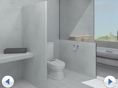 脱出ゲーム - Bathroom -