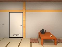 脱出ゲーム-忍者屋敷 からくり仕掛けの和室から脱出