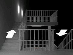 脱出ゲーム 謎の非常階段