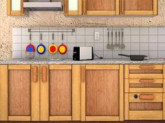 脱出ゲーム キッチンの謎