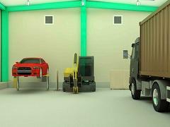 脱出ゲーム 自動車整備工場