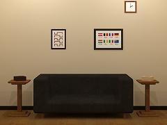 脱出ゲーム Living Room
