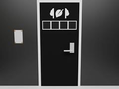 脱出ゲーム - 白黒のカギ