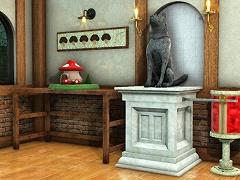 脱出ゲーム 犬と石像の部屋