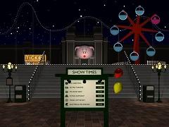 脱出ゲーム - 夜の遊園地