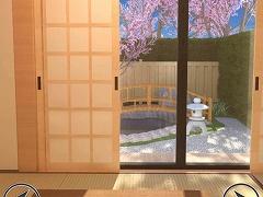 脱出ゲーム 桜の見える和室からの脱出