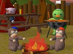 脱出ゲーム - キャンプ
