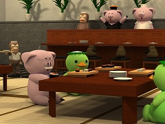 脱出ゲーム - 寿司屋
