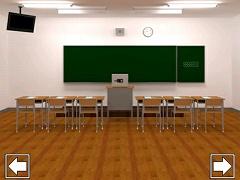 脱出ゲーム 謎の教室