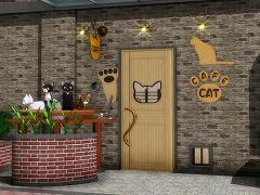 脱出ゲーム 猫カフェ