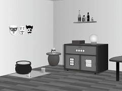 脱出ゲーム 魔法の絵の具