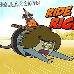 Regular Show Ride 'em Rigby
