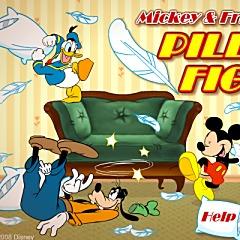ミッキーマウスの枕の戦い