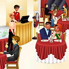 ロマンティックレストラン
